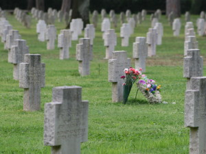 sbarco di anzio, cimiteri militari