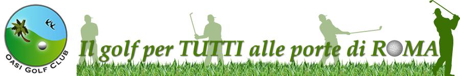 oasi golf a pomezia e aprilia
