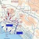 mappa sbarco anzio, gennaio 1944 seconda guerra mondiale